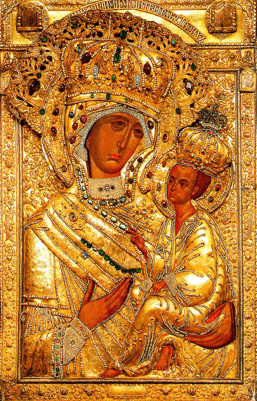 Тихвинска икона Пресвете Богородице, Тихвин.