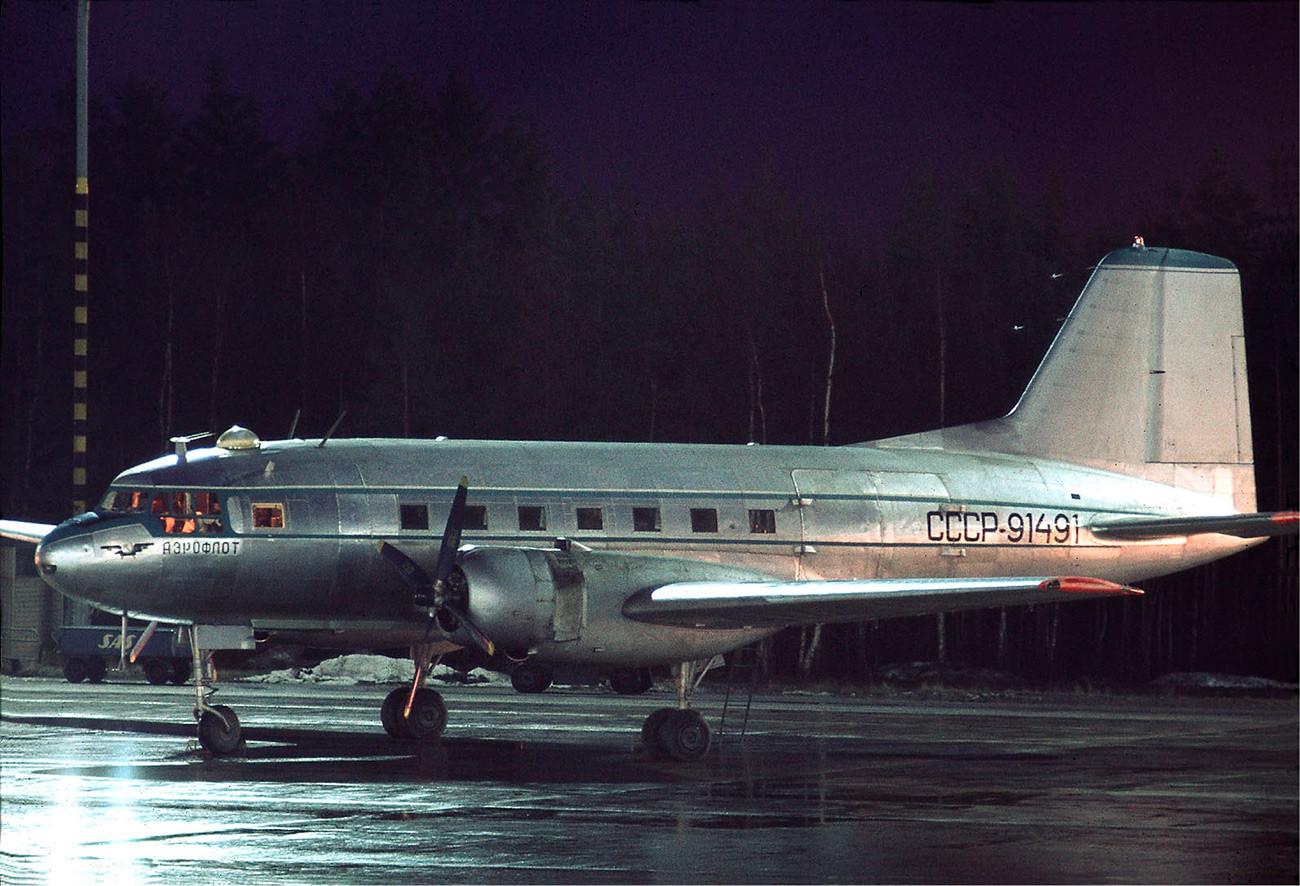 Il-14 de Aeroflot.