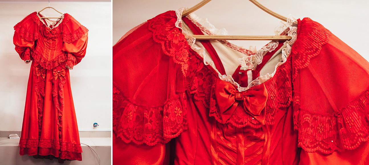"""Spettacolo """"Un ballo in maschera"""" di Mikhail Lermontov. Costume di Inna"""