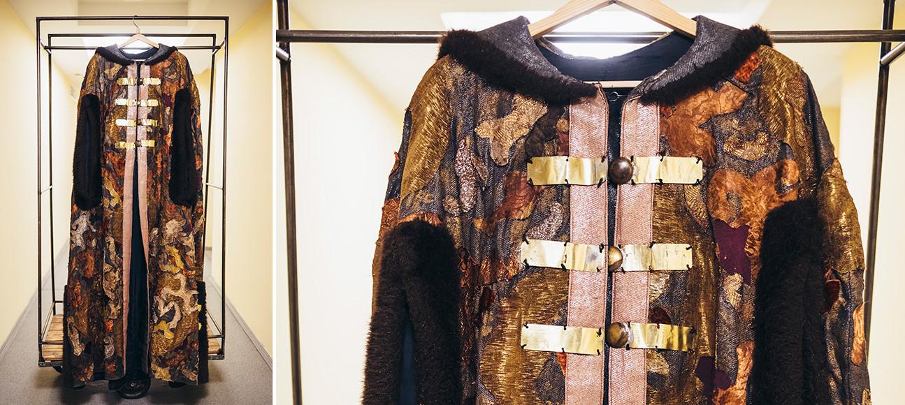 Spectacle Le Tsar Boris. Costume du prince Golitsyne.