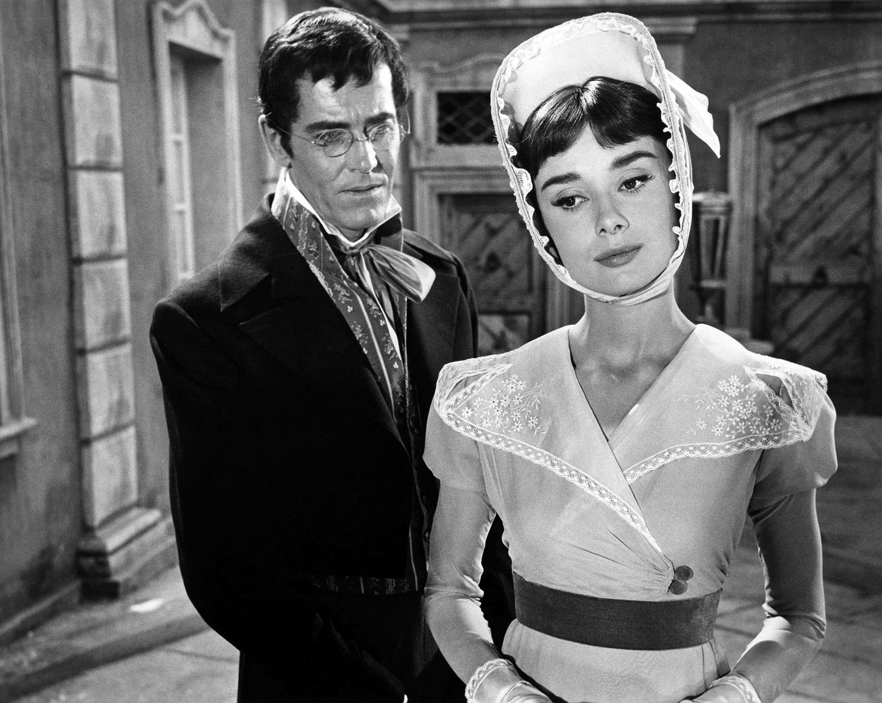 Audrey Hepburn was one of many actresses to portray Natasha Rostova, Tolstoy's ideal woman, on the screen.