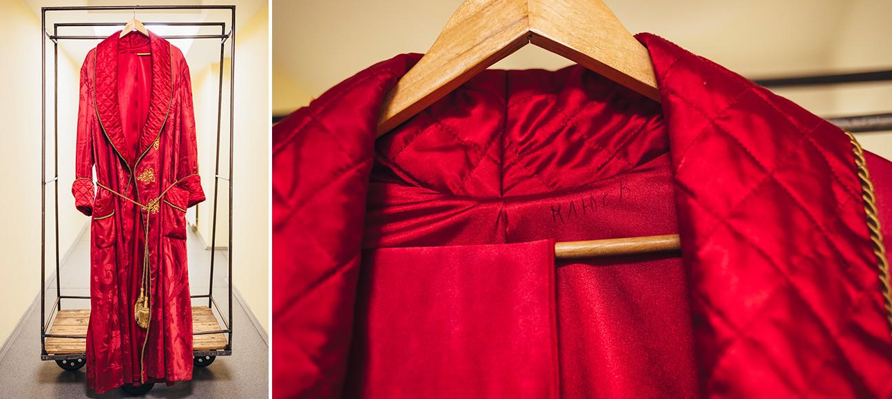 劇『仮面舞踏会』。アルベニンの衣装。