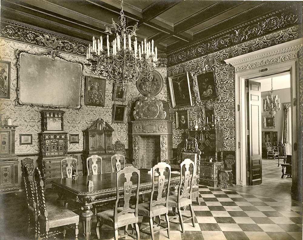 Le Palais Vladimir de Tsarskoïé Selo (hôtel particulier de l'homme d'État Viktor Kotchoubey), 1914. L.Gorodetski