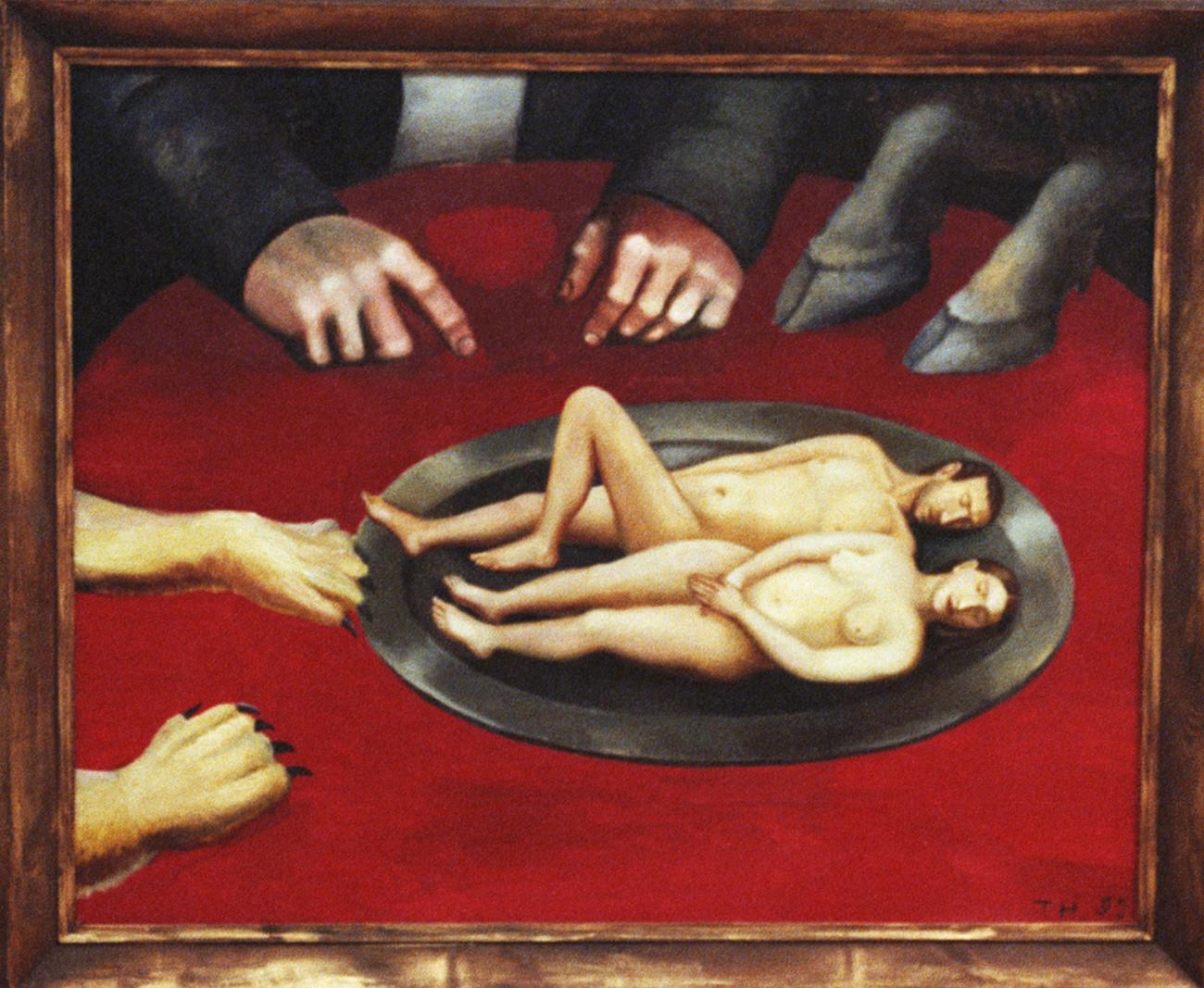 Αποτέλεσμα εικόνας για art collage erotica russian