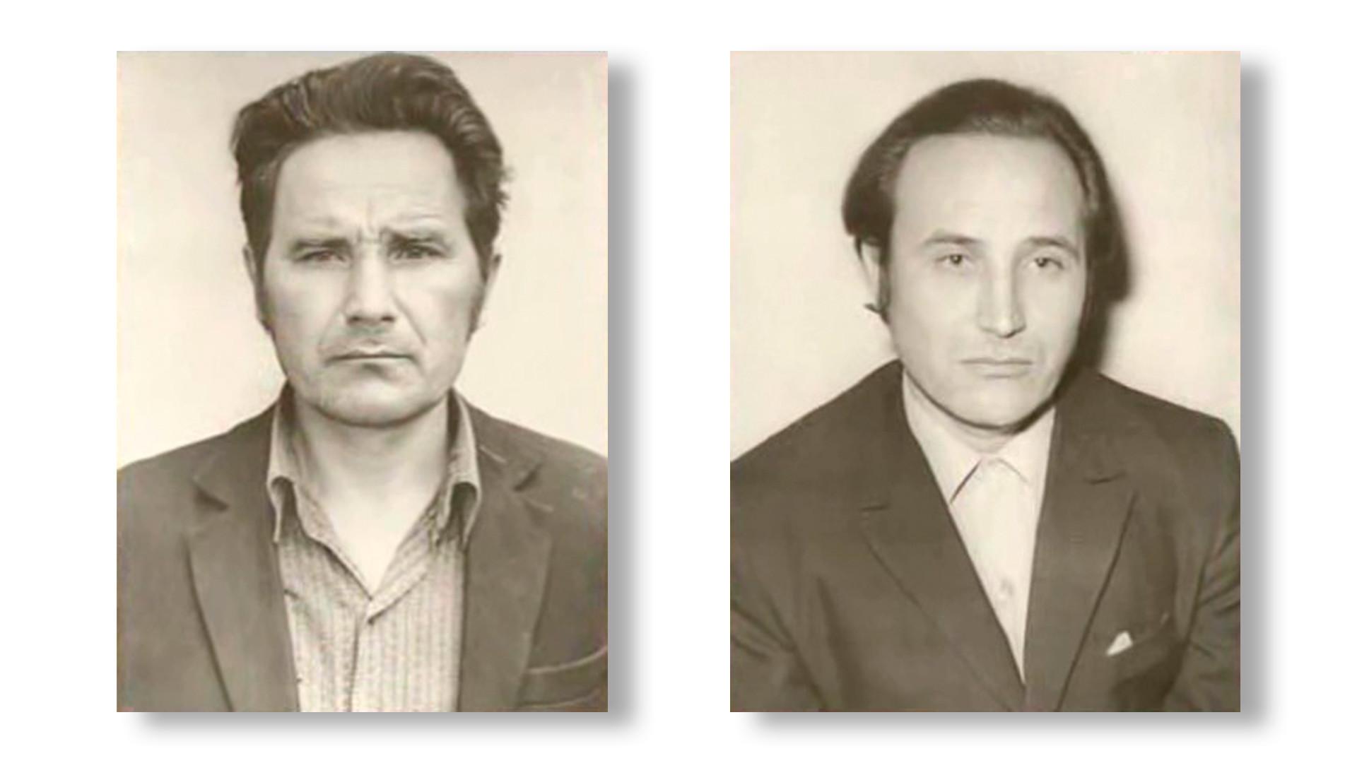 Wladimir und Wjatscheslaw Tolstopjatow