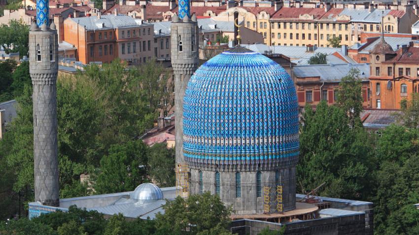 Masjid Biru Sankt Peterburg.