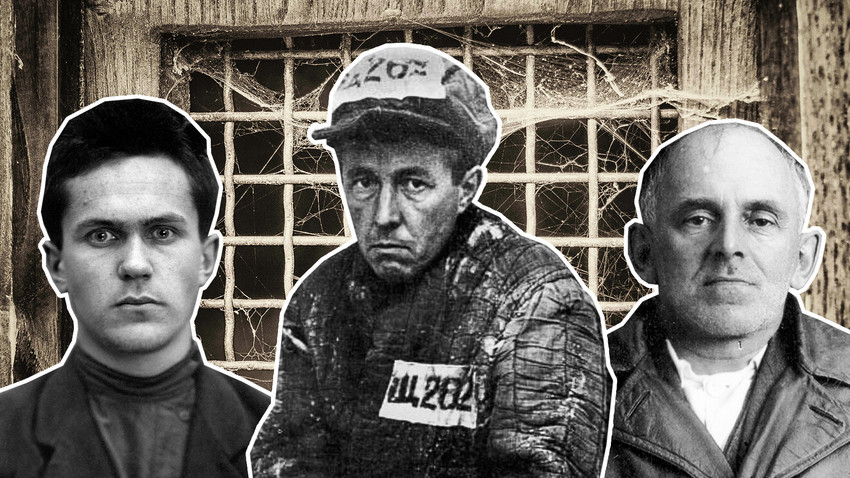 Varlam Shalamov, Alexander Solzhenitsyn and Osip Mandelstam - three writers put in the GULAG system.