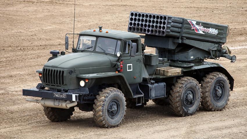 Sistema de lanzamiento múltiple Tornado-G.