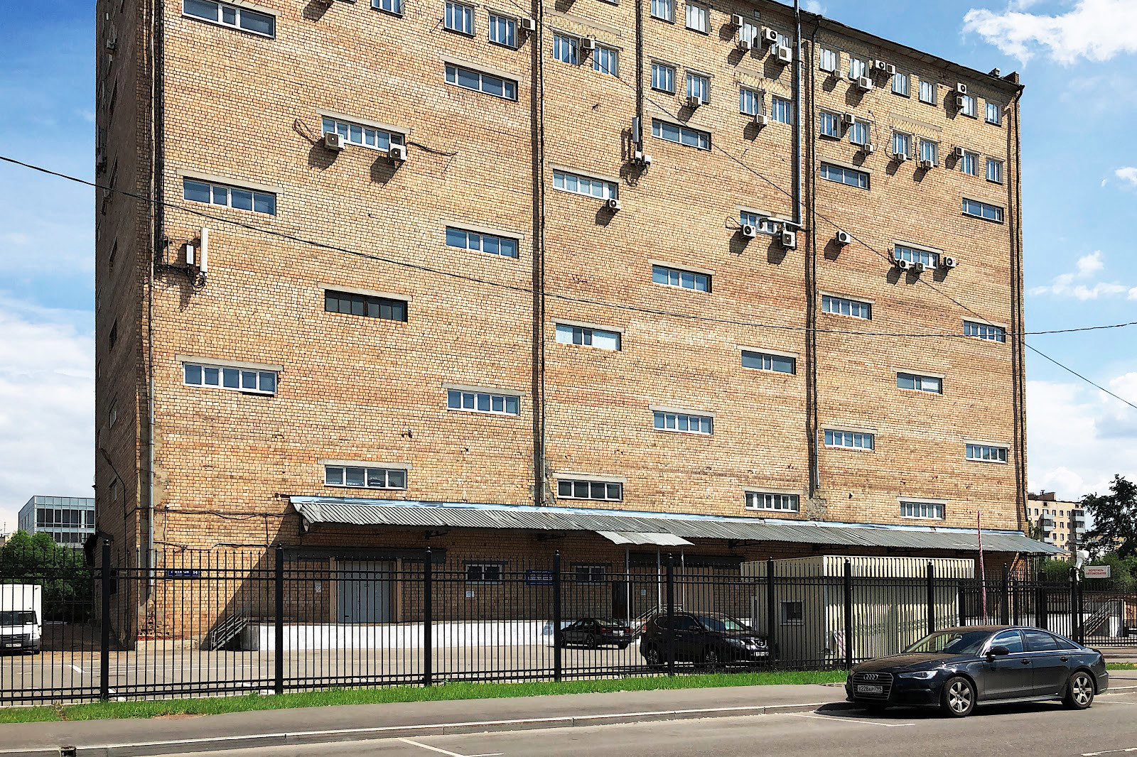 Бумажный проезд, офисно-складское здание, бывший склад издательства «Правда»