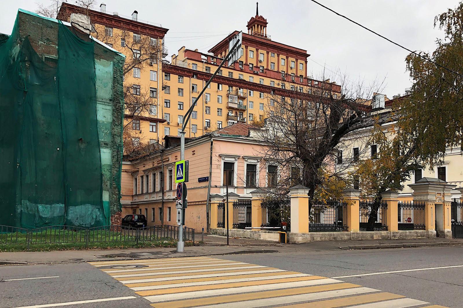 Садовническая улица, городская купеческая усадьба Иконниковых, жилой дом Электродного завода