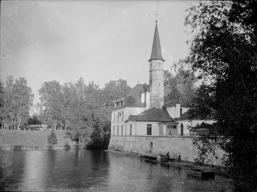 Приоратският дворец в Гатчина, 1900-те години