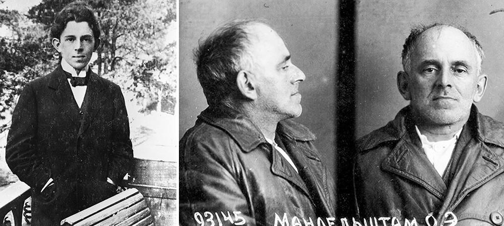 Zadnje zaporniške fotografije Osipa Mandelštama