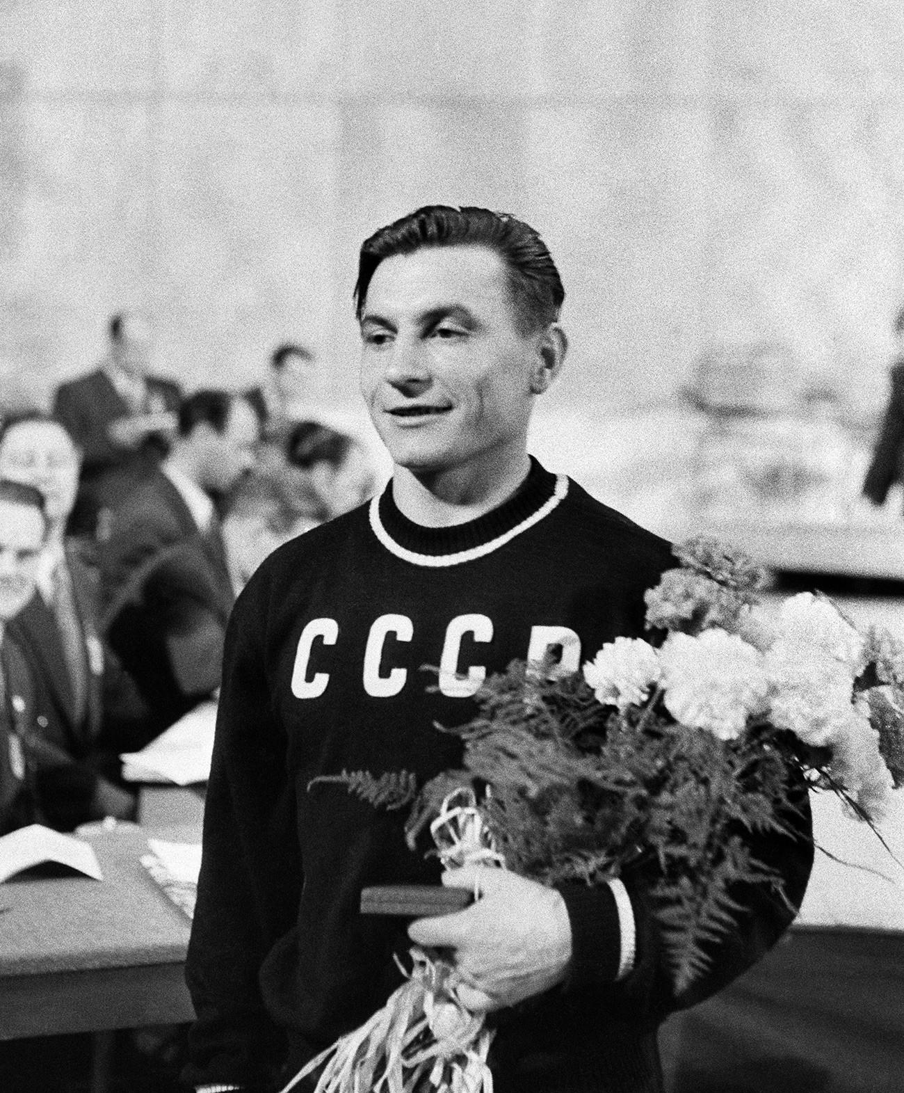 Ivan Udodov na XV. Olimpijskim igrama u Helsinkiju.