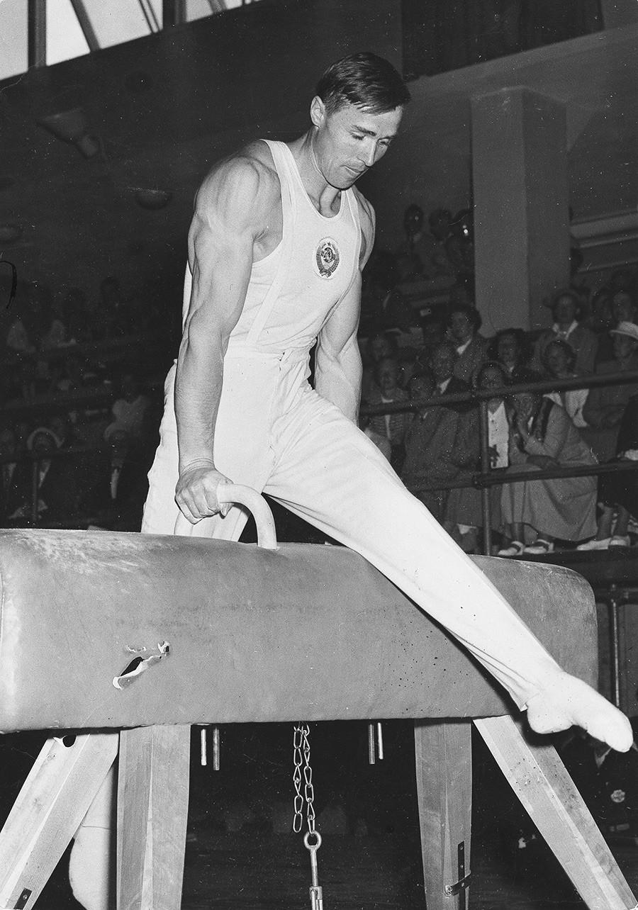 Viktor Čukarin na OI 1952.