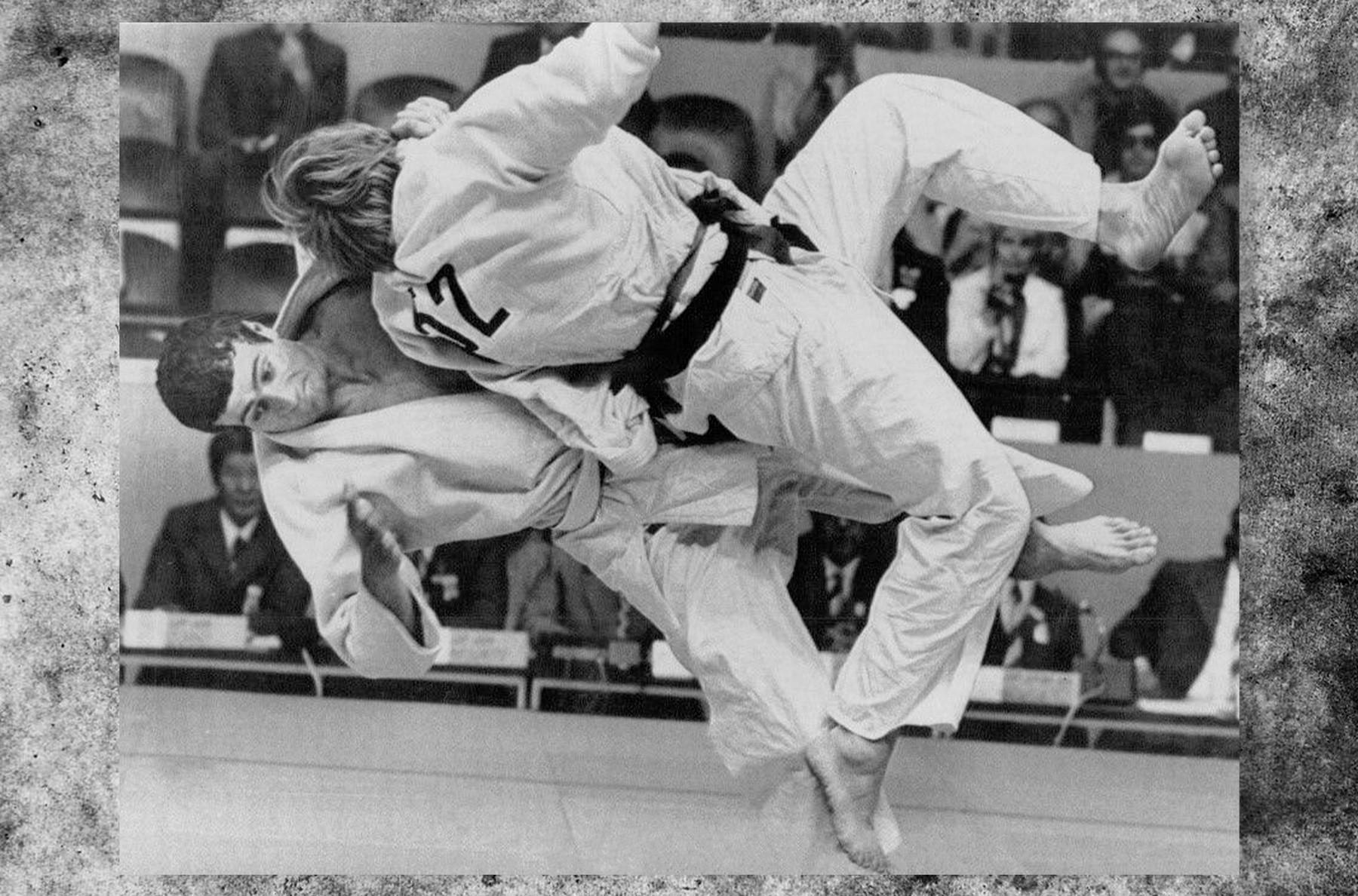 Campeón olímpico de judo, Shota Chochishvili, 1972.