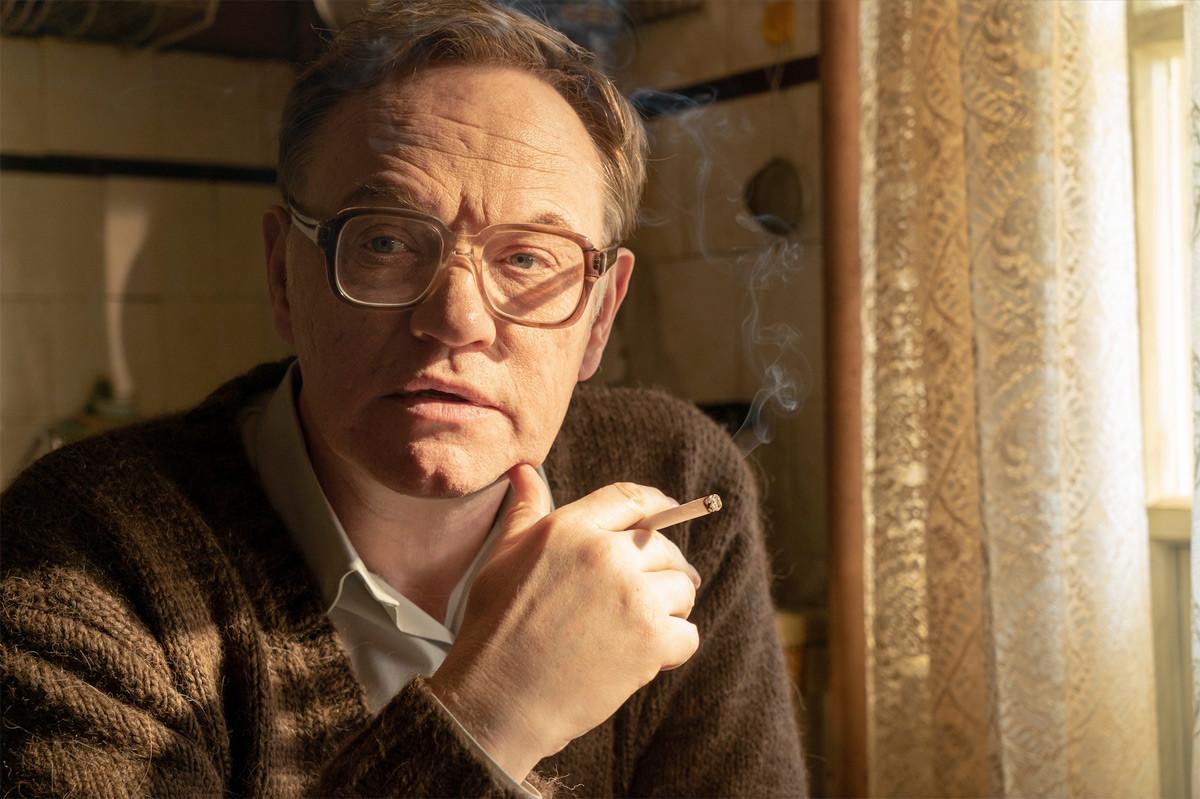 "Jared Harris als Waleri Legassow in der HBO-Miniserie ""Chernobyl"""
