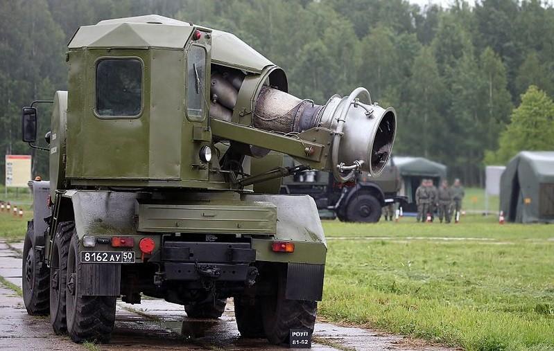 Vehículo de descontaminación TMS-65U.