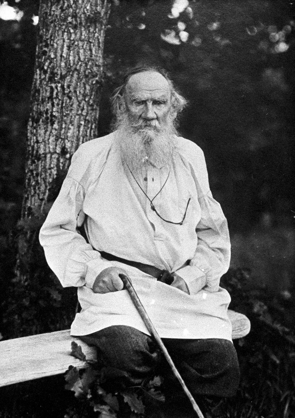 Leo Tolstoy dominated Russia's cultural and social life in the early 20th century.