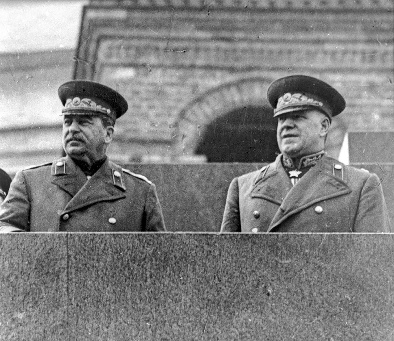 Zhukov and Stalin
