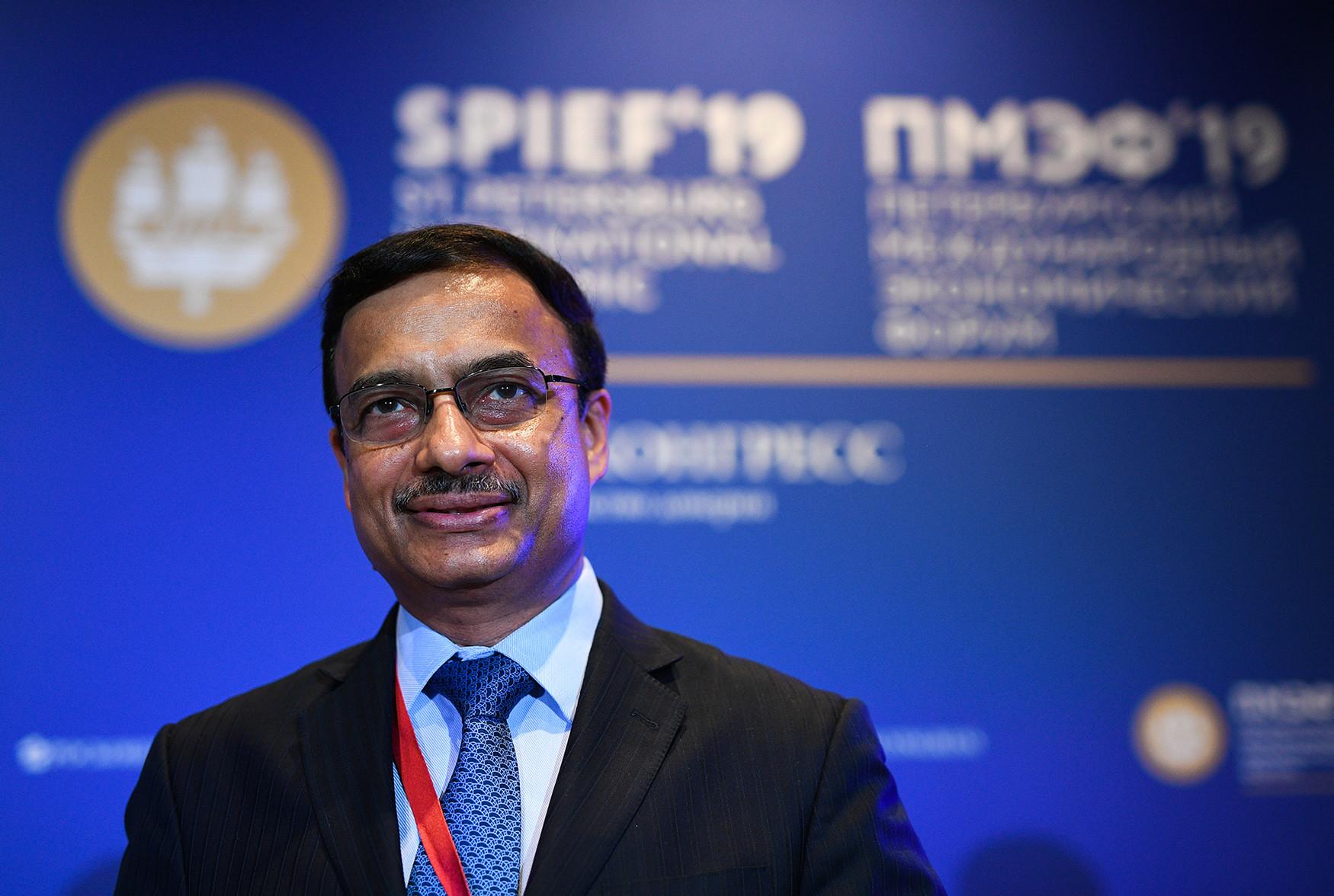 Presidente de Unilever en Rusia, Ucrania y Bielorrusia, JV Raman
