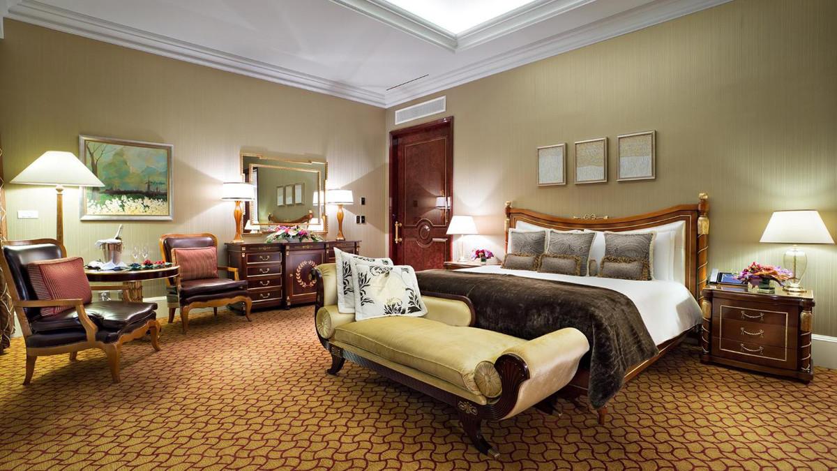 Suite Real del Hotel Lotte de Moscú