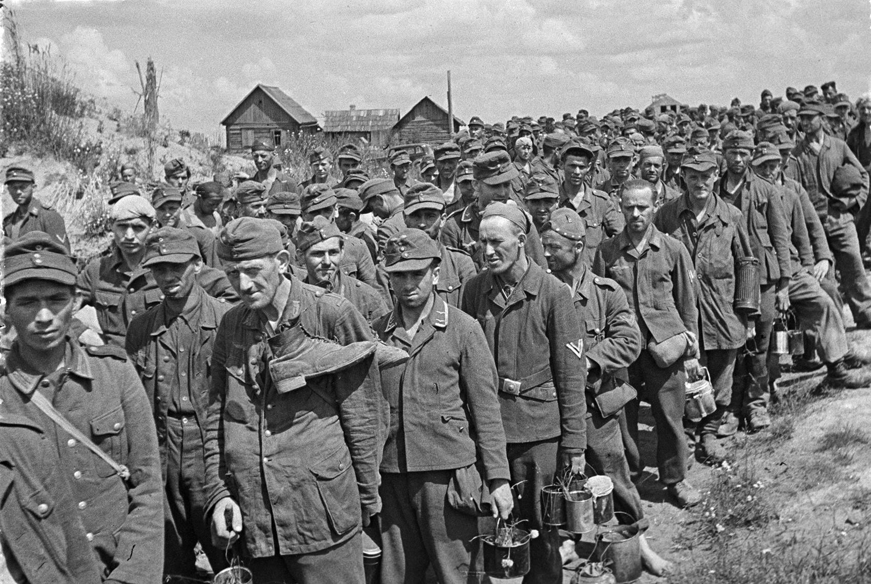 Немачки заробљеници, Белорусија.