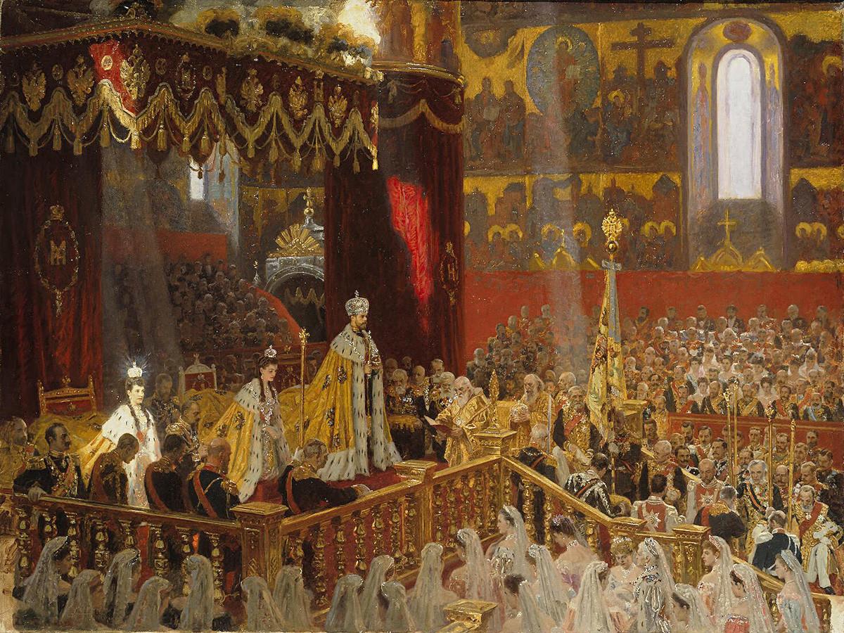 Крунисање императора Николаја Другог и Александре Фјодоровне
