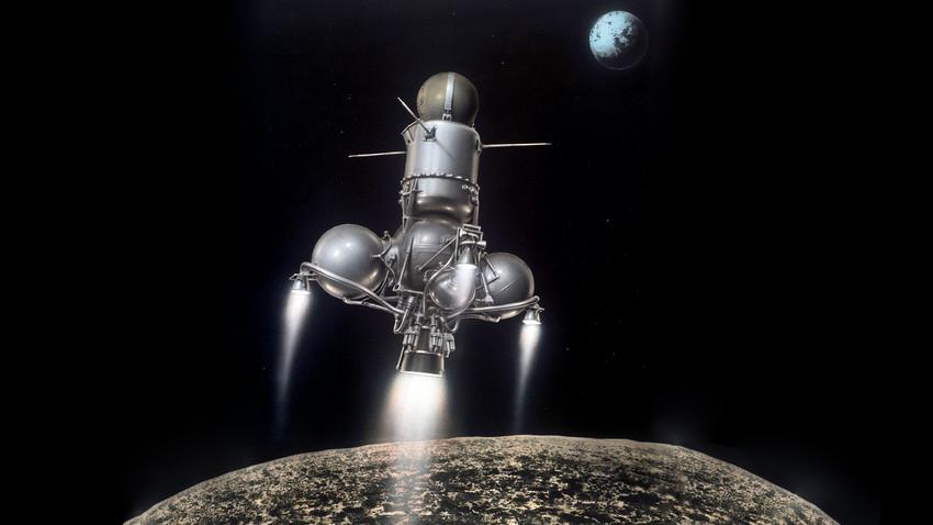Luna-16, análoga da Luna-15
