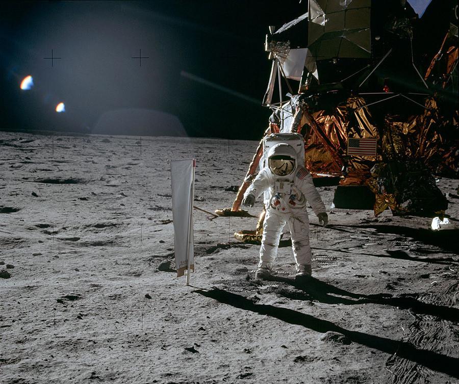 Apollo 11, Buzz Aldrin (segundo homem a pisar na Lua)