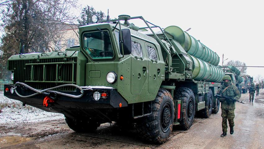Sistema antimísseis S-400 Triumf