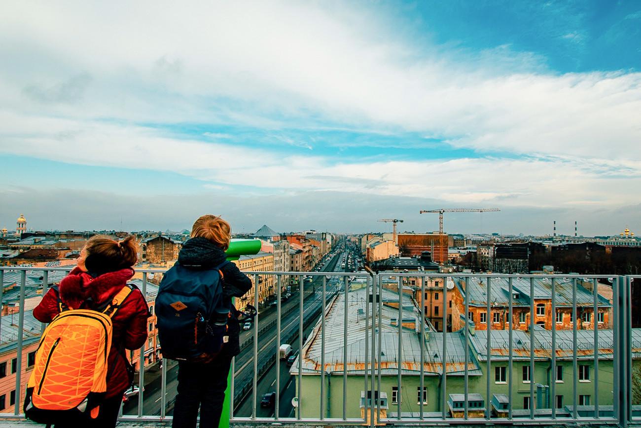 5 Observation Decks In St Petersburg Offering