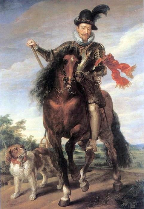Peter Paul Rubens. Sigismund III of Poland (ca. 1624)