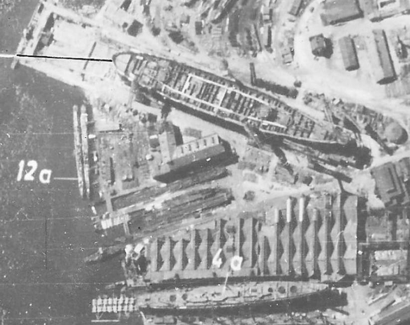 Германска разузнавателна снимка на Съветския съюз, направена през юни 1942 г.