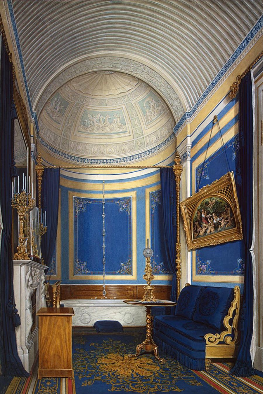 Eduard Gau.  El cuarto de baño de la princesa Maria Alexandrovna
