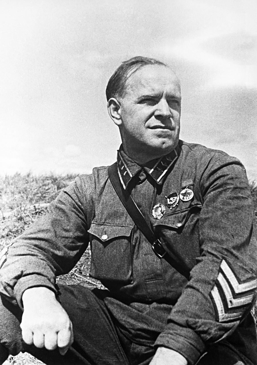 Командант корпуса Георгиј Жуков током војне акције на Халкин Голу.