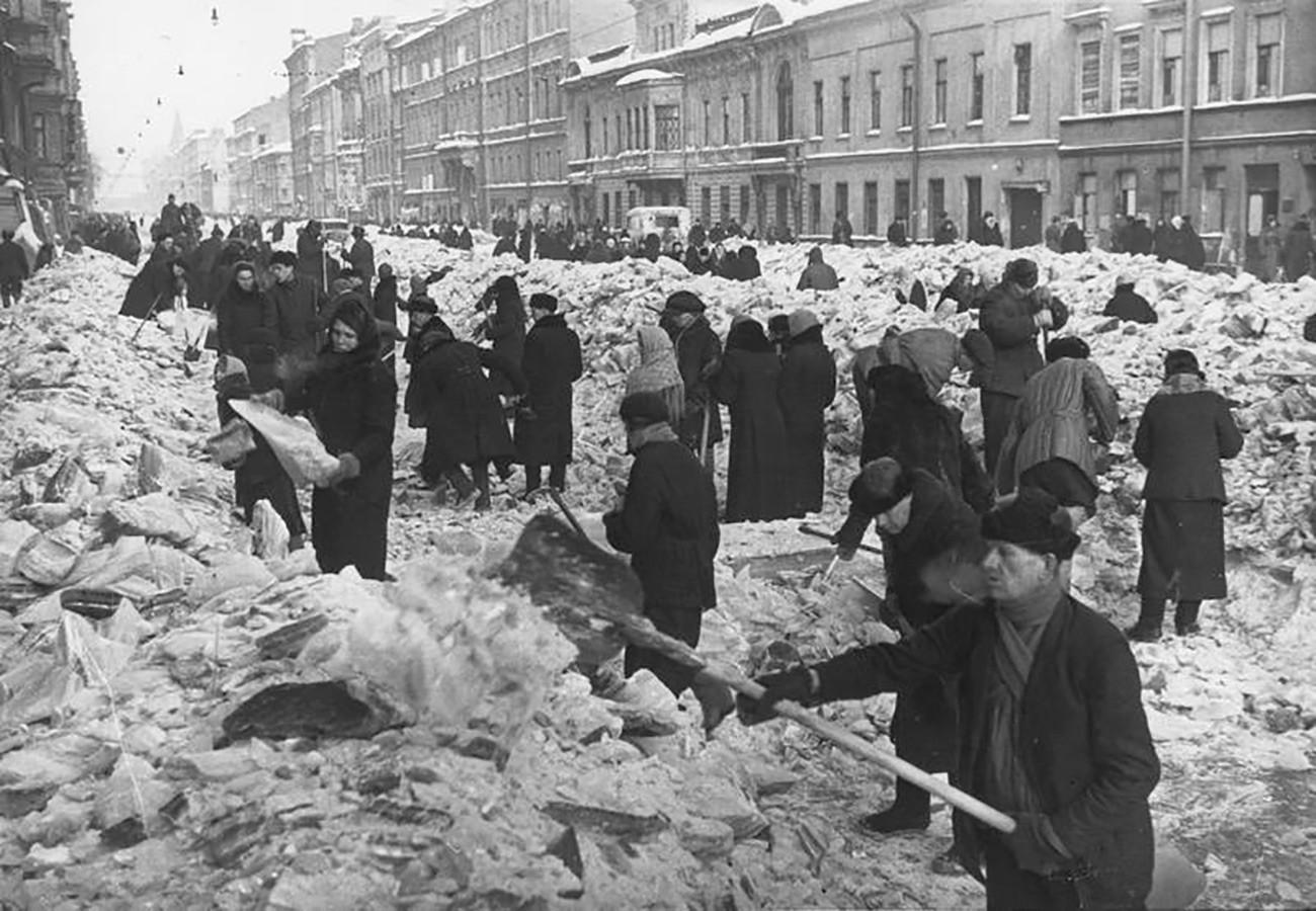 Лењинград под опсадом.