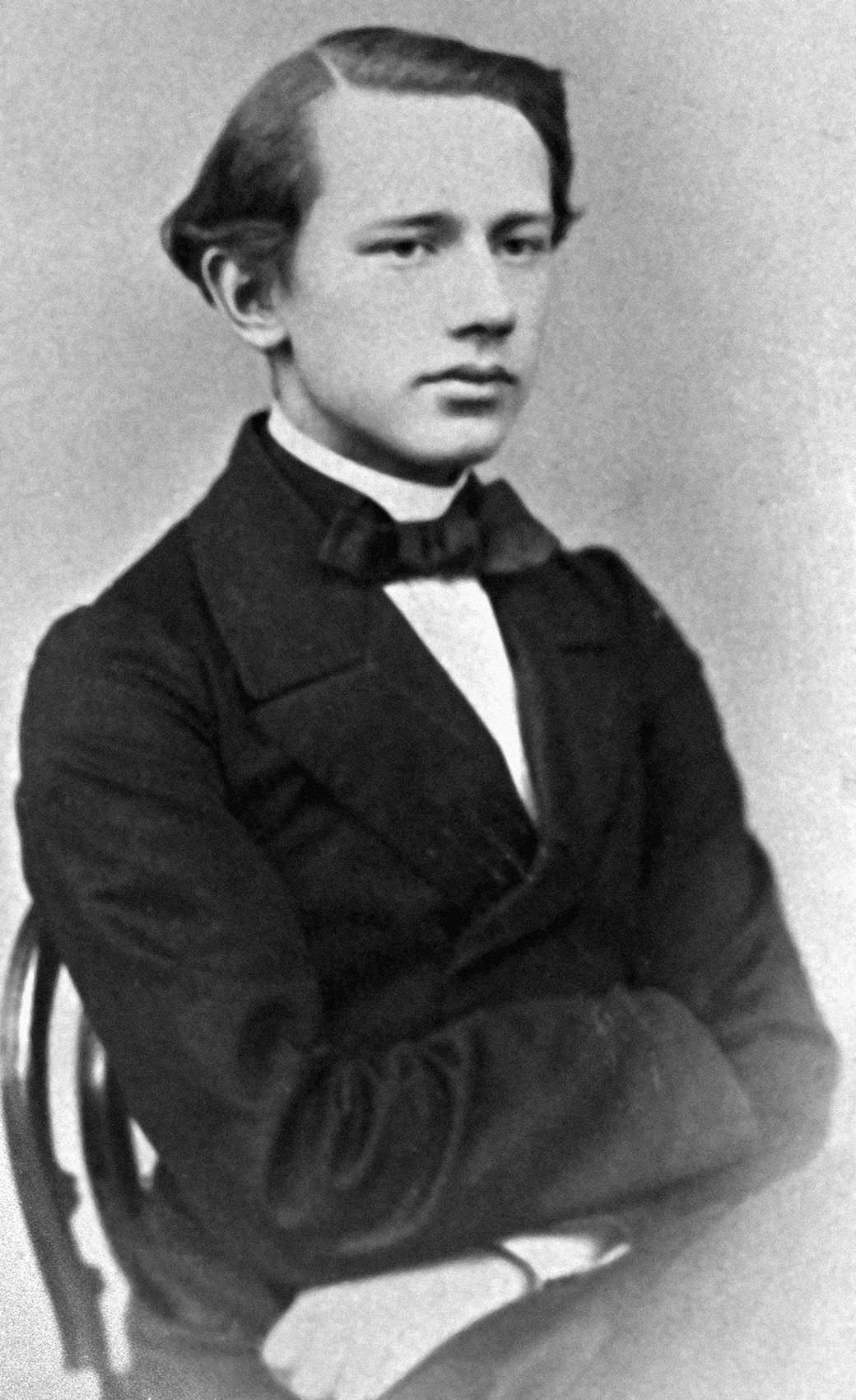 Петар Чајковски, почетак 1860-х