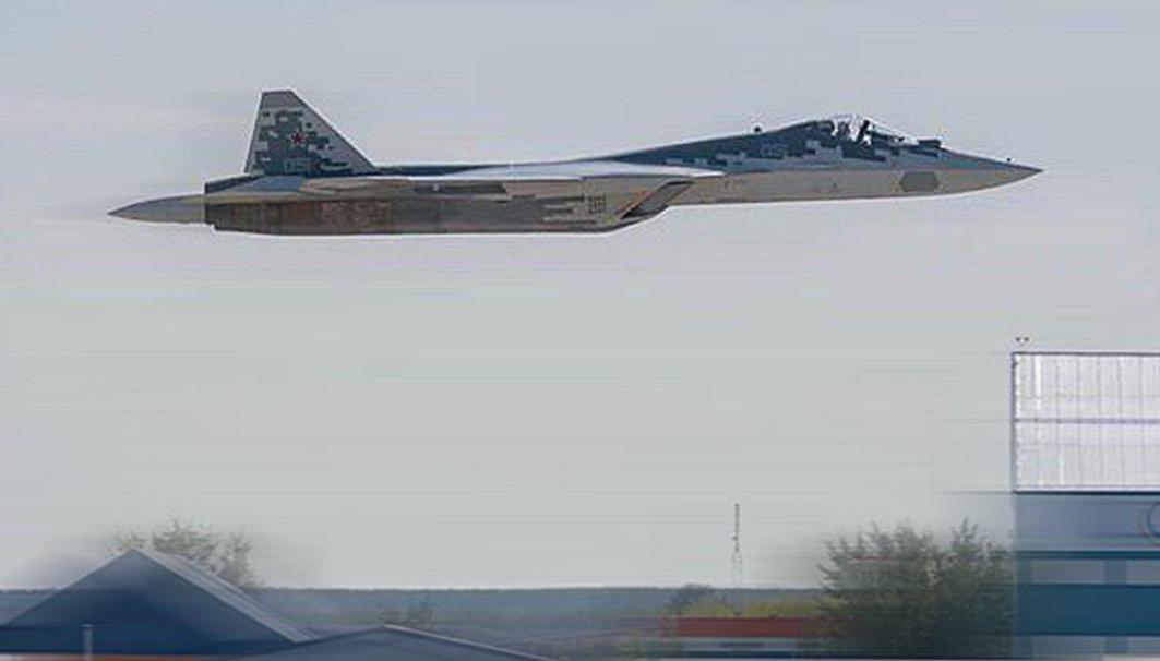 Су-57 на МАКС 2019