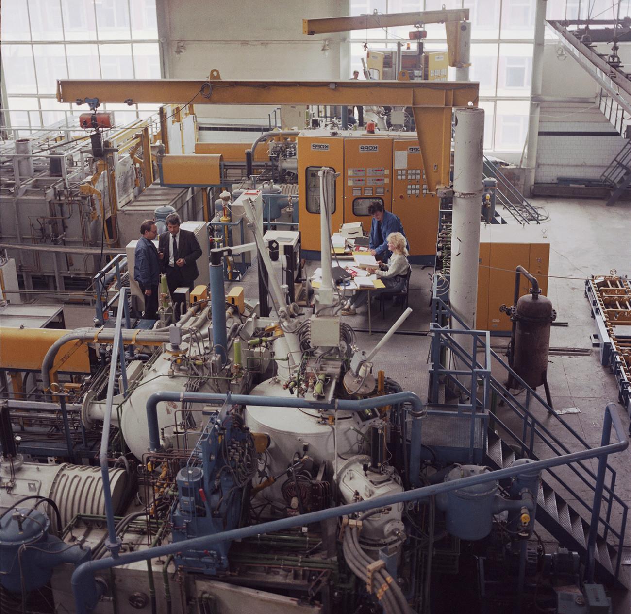 An‐124とAn‐225向けのエンジン生産