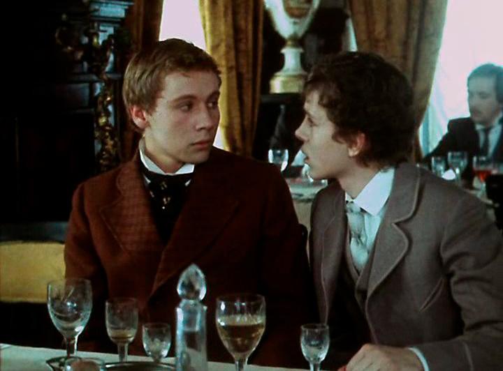 Cena da adaptação soviética de 'O adolescente' para o cinema, de 1983.