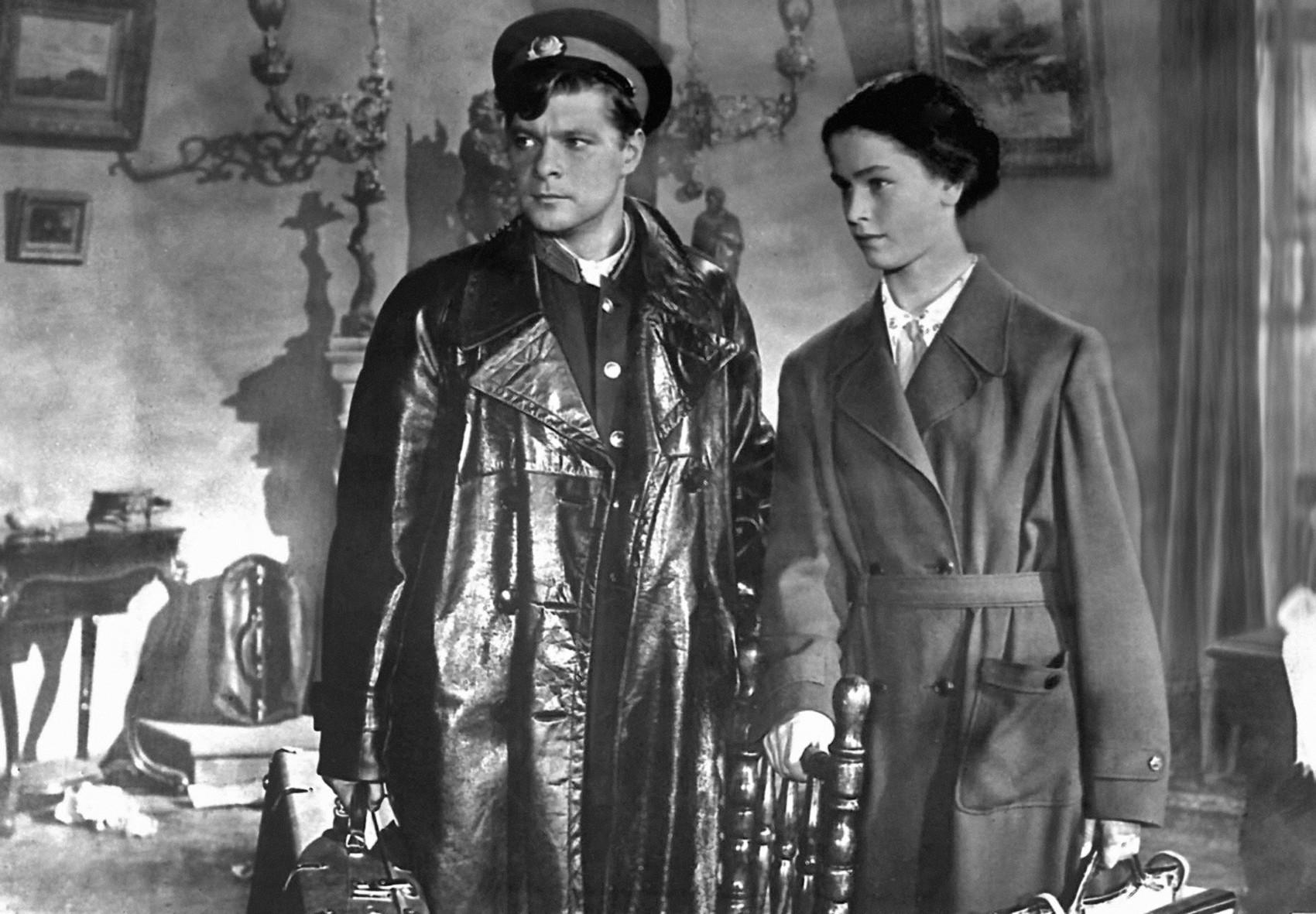 """Cena do filme """"Dois capitães"""" (1955)."""