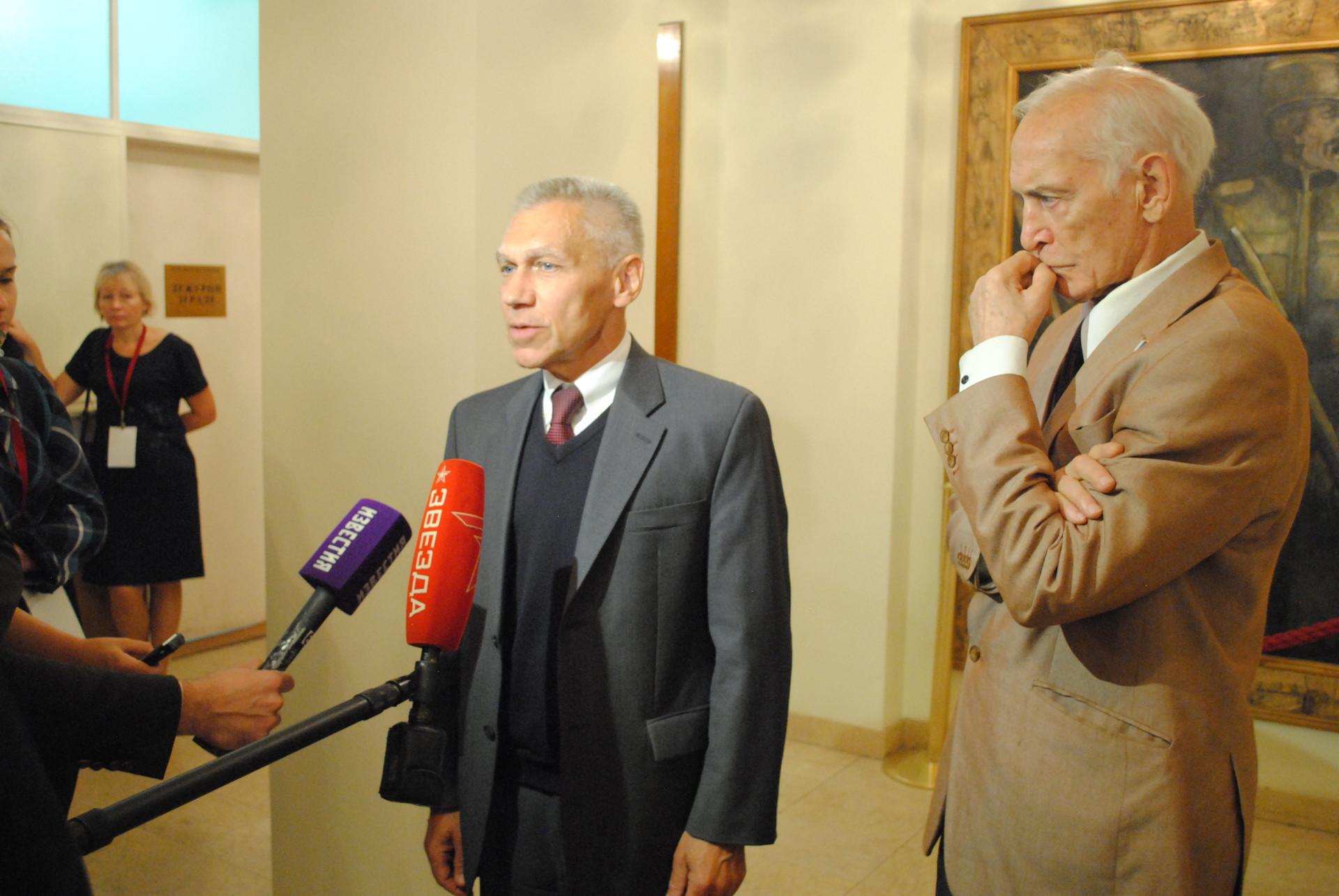 Александар Боцан-Харченко и Василиј Лановој