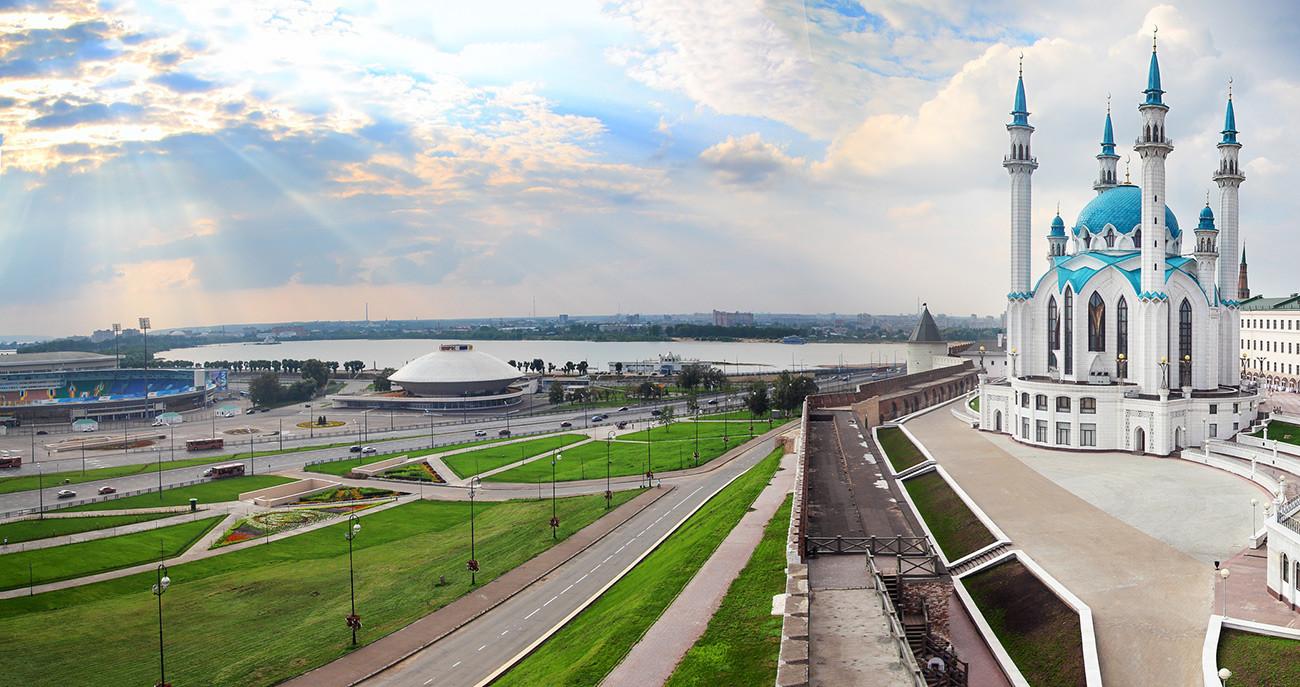 Trg tisočletja, Kazan