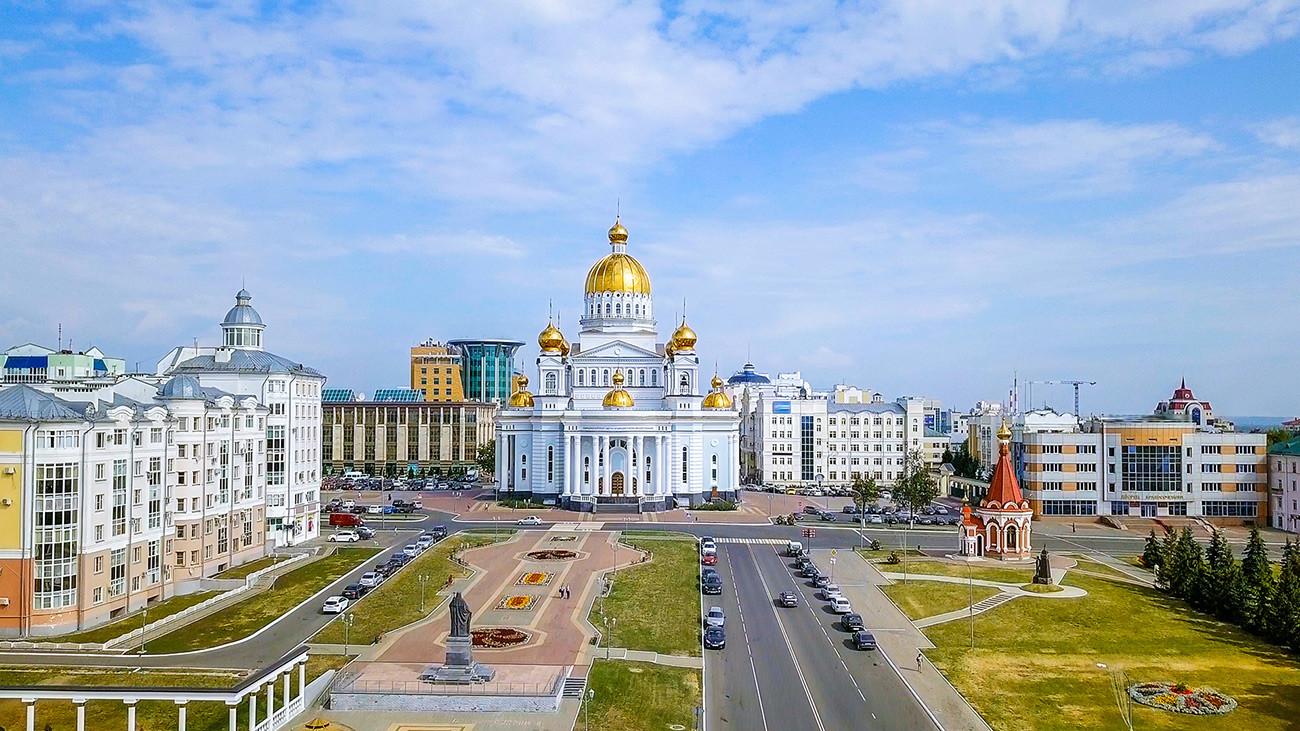 Katedralni trg, Saransk
