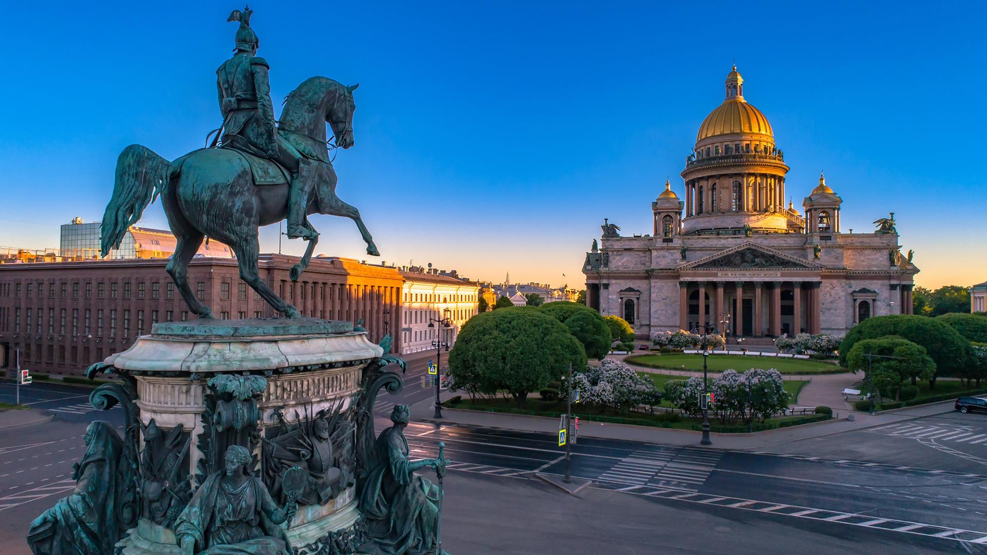 Trg sv. Izaka, Sankt Peterburg