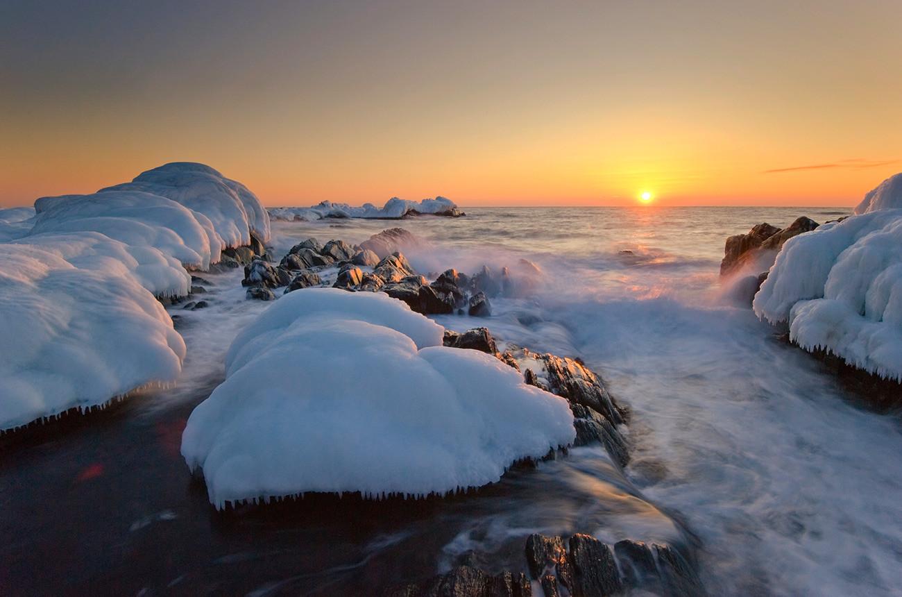 Finski zaliv pozimi