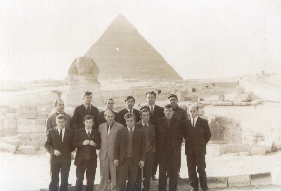 Совјетски војни стручњаци у Египту