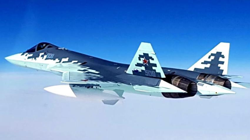 Вишенаменски ловац пете генерације Су-57