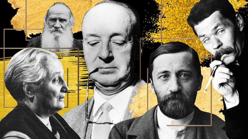Banyak penulis besar tidak pernah mendapat Penghargaan Nobel, termasuk para penulis besar Rusia.