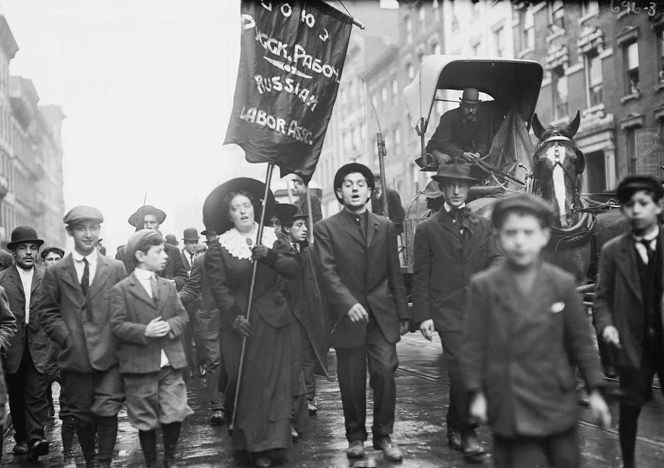 Парад на День труда в Нью-Йорке